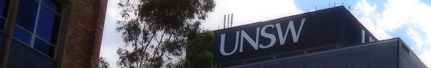 UNSW Sitewide random header image