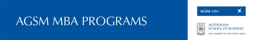 AGSM Student News