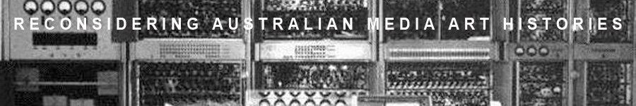 Australian Media Art History Archive