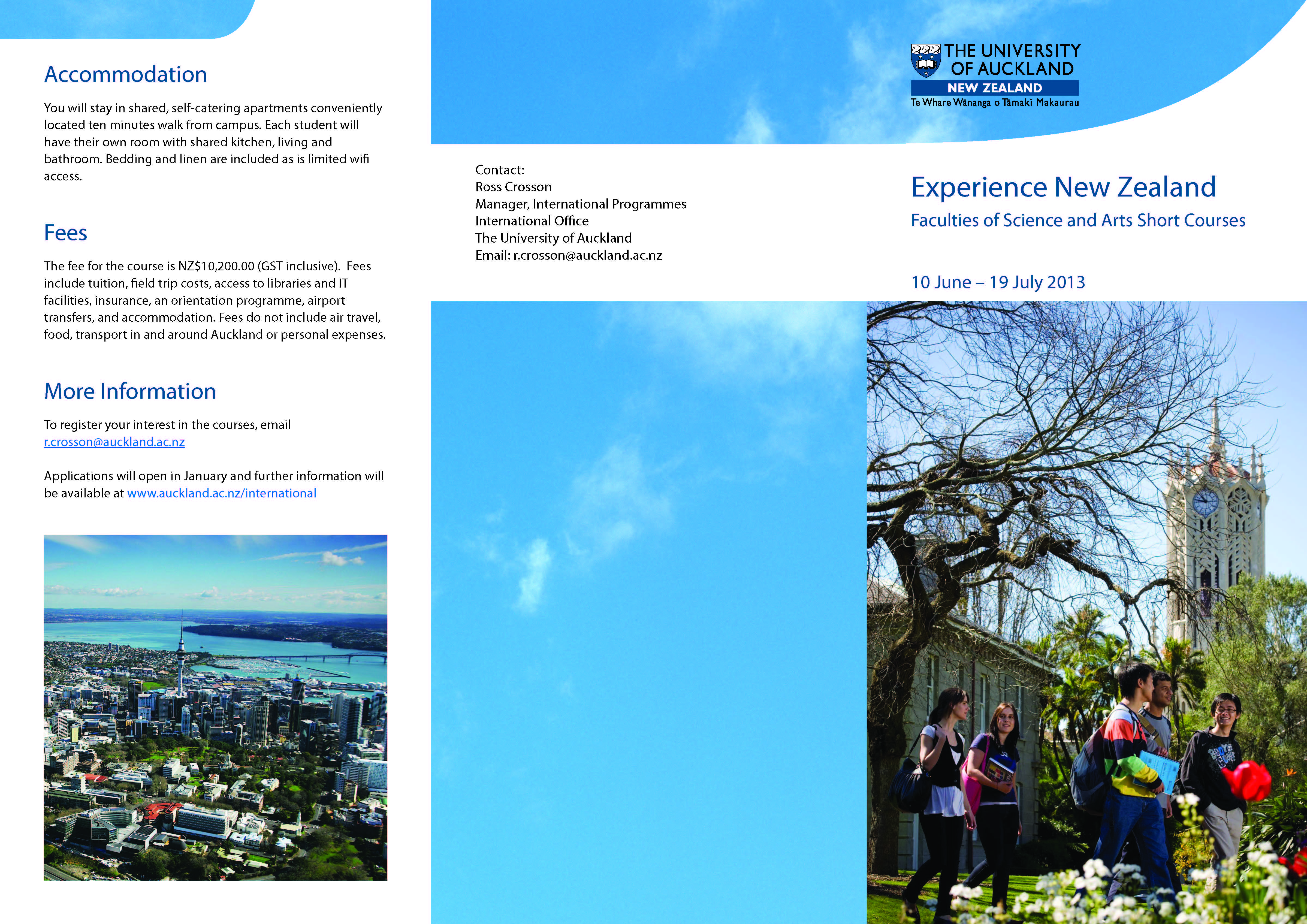 Environmental Science graphic design short course sydney