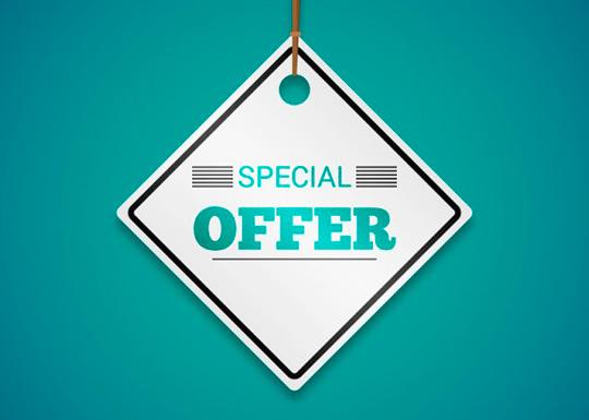 Cupón oferta especial