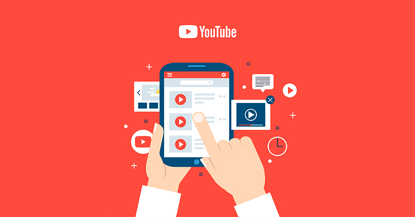 reproduciendo vídeos de Youtube