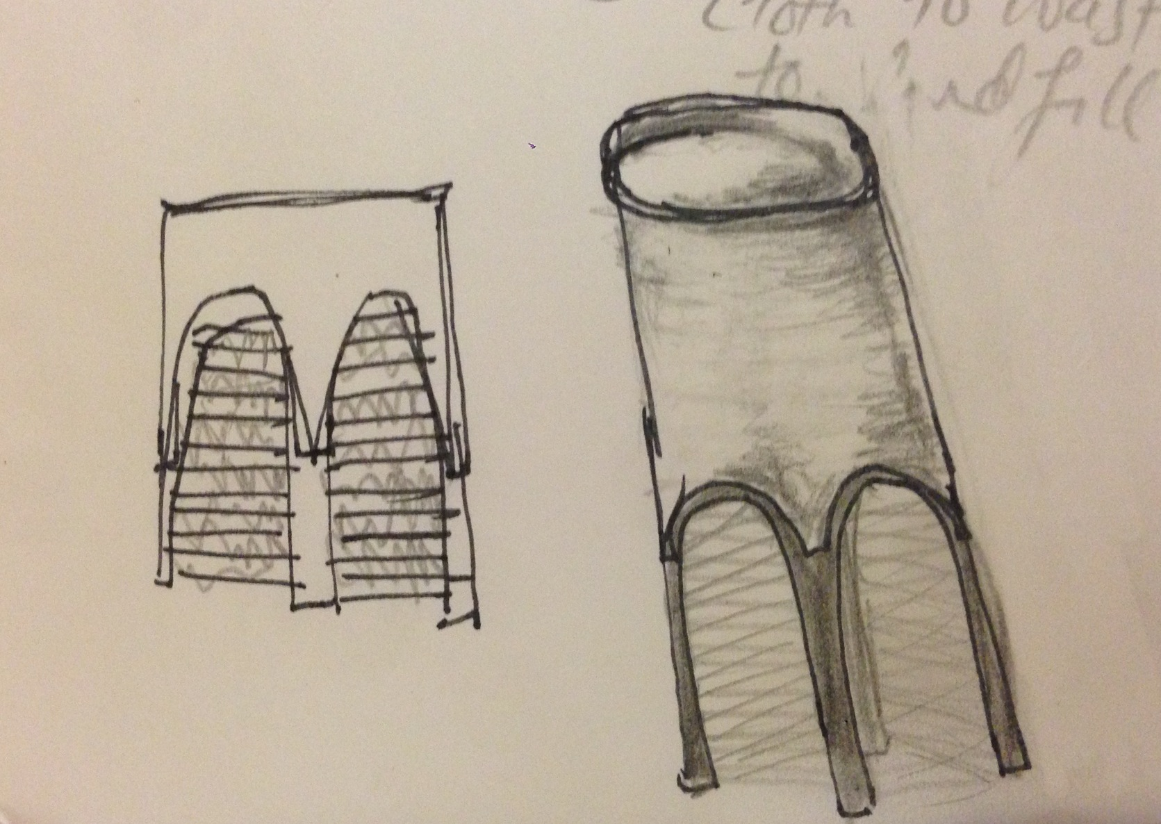 Bar Stool Sketch